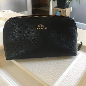 Handbags - Coach Cosmetic Pouch black NWT